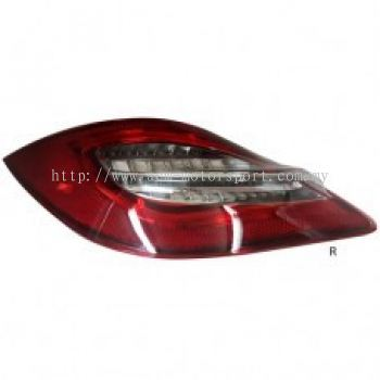 Boxster 09 Rear Lamp Crystal LED Red