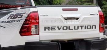 Toyota Hilux 2016 rear bonnet cover