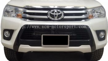 Toyota Hilux 2016 front bumper cover