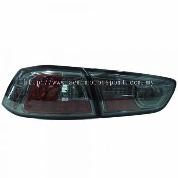 Lancer '08 Rear Lamp Crystal LED Smoke