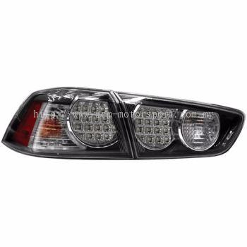 Lancer '08 Rear Lamp Crystal LED Black
