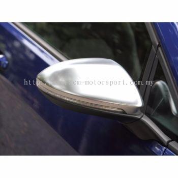 GOLF Mk7  7R GTI Cabrio Matt Chrome Side Mirror Cover