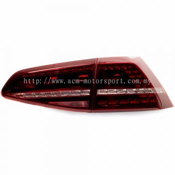 mk 7 Rear Lamp Crystal R Type W/Sequential Signal Light