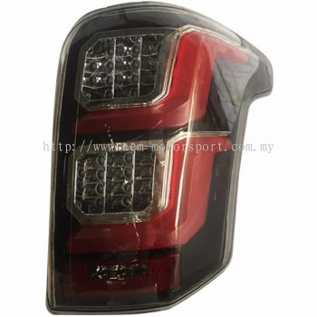 Triton Rear Lamp Crystal LED Black W/Full LED + Sequential Signal LED