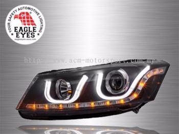 Accord Projector U-Concept Head Lamp 08~12