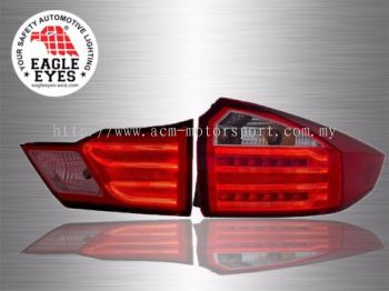 City LED Light Bar Tail Lamp 14~15