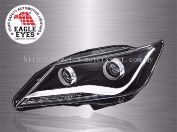 Camry Projector Audi Concept LED Light Bar Head Lamp 11-13