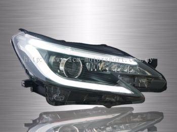Toyota Mark-X Projector Light Bar Head Lamp 14-17