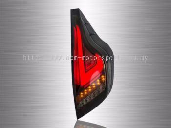 Prius C 3D LED Light Bar Tail Lamp 10~14