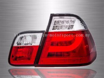 BMW E46 4D or 2D LED Light Bar Tail Lamp 98~05