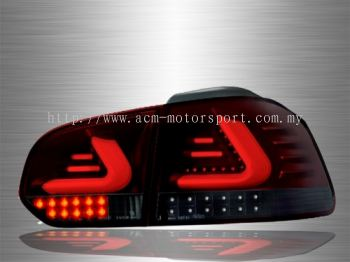 Golf 6 LED Light Bar Tail Lamp 09~13