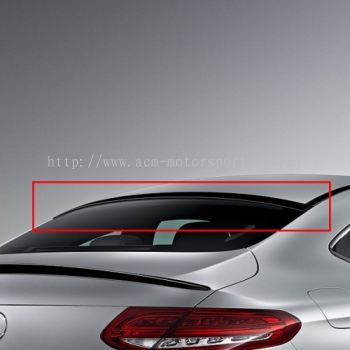 W205 Coupe Roof Spoiler