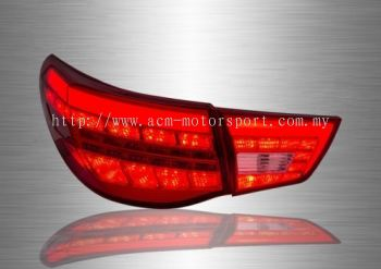 Mark X LED Light Bar Tail Lamp 12~17