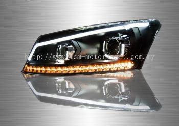 Honda Accord 4D Full LED Sequential Head Lamp 08-12