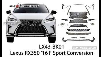 Lexus rx350 2016 f sport conversion