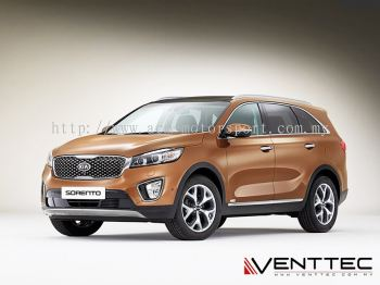 KIA SORENTO (4�� = 100MM) venttec door visor