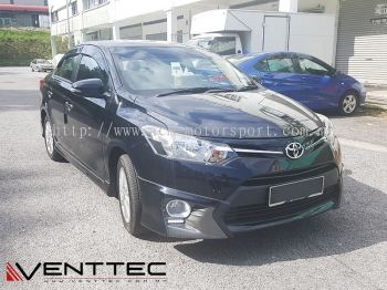 TOYOTA VIOS / YARIS SEDAN (4�� = 100MM) venttec door visor