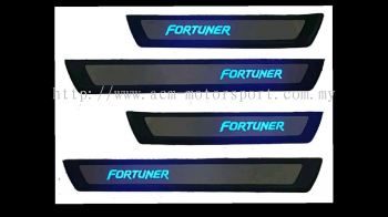 fortuner 2017 led side steel plate