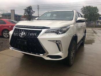 toyota fortuner 2017 Lexus trd front bumper conversions