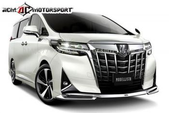 toyota Alphard 2018 (normal)facelift modellista kit