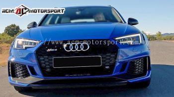Audi A4 2017 RS front bumper