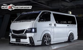 HIACE SAD DESGIN TYPE IV Bodykit