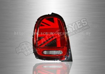 Mini Copper F56 red LED Sequential Signal Taillamp 14-19