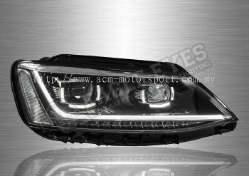 VW Jetta Projector Head Lamp (P Style) 11-18