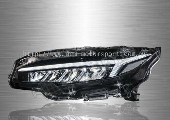 Honda Civic FC LED Sequantial Signal Headlamp 16-19