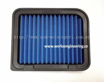 Works Air Filter - Mitsubishi Lancer 2.0/2.4 '13-'15 /on