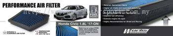 Honda Civic FC 2016 1.8L Works engineering air filter