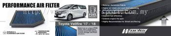 Toyota vellfire 2015-18 Works engineering air filter