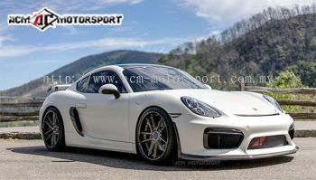 Porsche boxster 981 GT4 Style front bumper