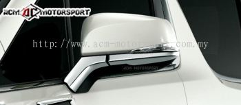 Toyota Alphard ANH30 side mirror trim