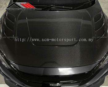 Honda Civic FC Carbon Fiber Hood v2