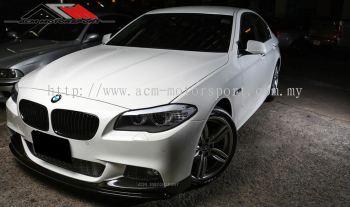 BMW F10 m-sport 3D Carbon front lip