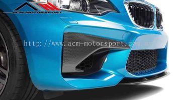 BMW F87 Front Bumper Carbon Ganish