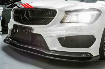 Mercedes benz CLA45 Revo Front lip carbon