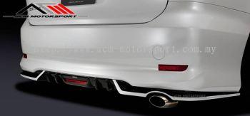 Toyota Estima 2017 SILK BLAZE Rear Difusser