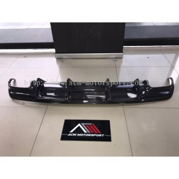 Mercedes Benz W117 CLA Carbon fiber rear diffuser