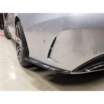 Mercedes benz W205 Side bumper carbon fiber diffuser
