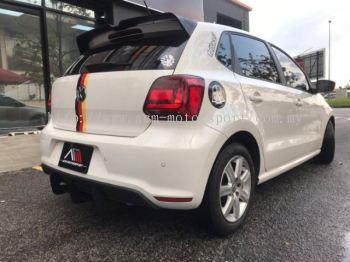 Volkwagen polo GTi rear bumper With diffuser