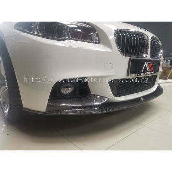 BMW F10 carbon fiber front skirt MP bodykit