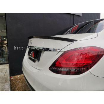 Mercedes Benz W205 MAD carbon fiber spoiler