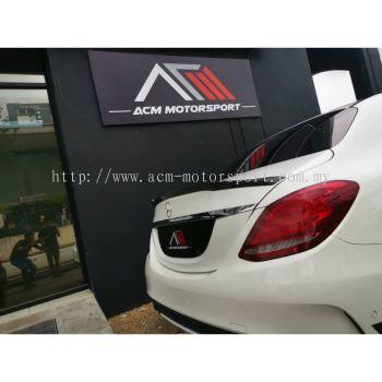 Mercedes Benz W205 AG4 carbon fiber spoiler
