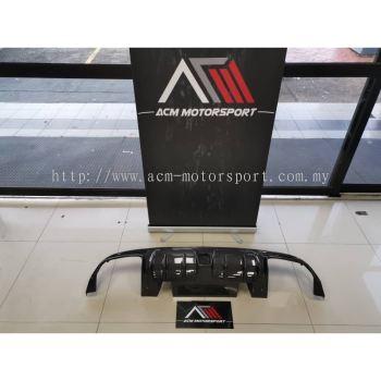 Mercedes benz W205 C63 rear diffuser