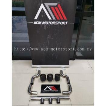 Honda civic FC type r bodykit exhaust