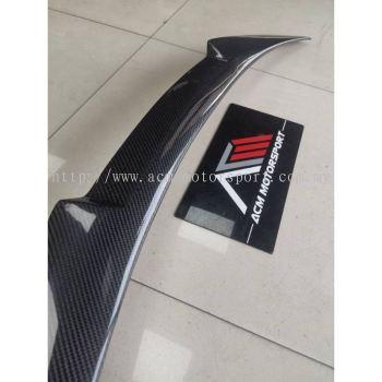 BMW F32 M4 rear trunk spoiler carbon fiber bodykit