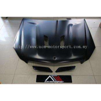 Mercedes-benz W204 black edition aluminium hood
