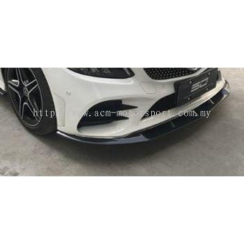 Mercedes benz W205 FL AMG FD carbon front skirt bodykit